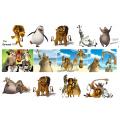 Картинки на водорастворимой бумаге - Мадагаскар