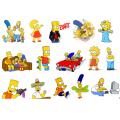 Картинки на водорастворимой бумаге - Симпсоны