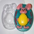 Форма для мыла Кролик с яйцом